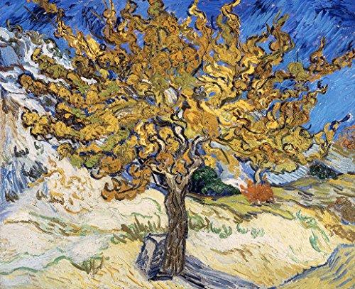 Kunst für alle stampa artistica/poster: vincent van gogh mulberry tree 1889