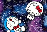 1000 piece jigsaw puzzle Doraemon Hello Kitty Galaxy (49x72cm)