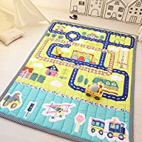 Zinsale Large Thicken Cotton Baby Playmat Educational Crawling Mat Nursery Rug Activity Gym