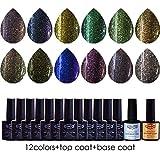 ( Dream Gel) - UV nail polish black nail kit mini #12hybt-002nd