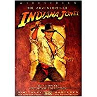 Adventures Of Indiana Jones, The - The Complete Movie DVD Collection / Raiders of the Lost Ark / Indiana Jones and the Temple of Doom / Indiana Jones and the Last Crusade