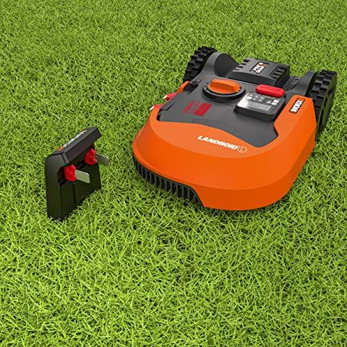 Worx Landroid L WR155E Mähroboter / Akkurasenmäher für große Gärten bis 2000 qm / Selbstfahrender Rasenmäher für einen sauberen Rasenschnitt im Handumdrehen - 6