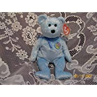 TY Beanie Baby - DECADE the Bear (Light Blue Version) by Ty