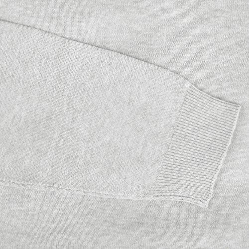 hemmy Herrenpullover uni, modsicher und zeitloser Basic Pullover mit Rundhals sowie in vielen verschiedenen Farben und Größen verfügbar hellgrau - silbergrau - meliert