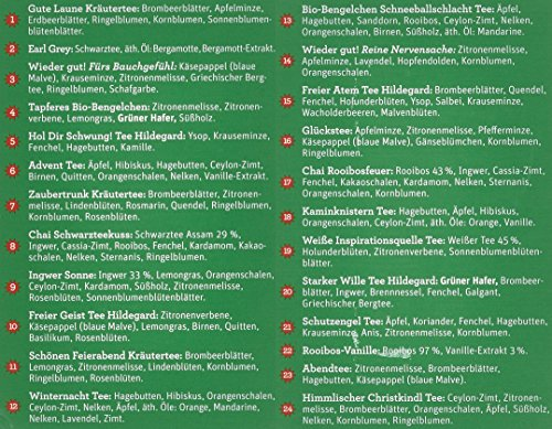 Sonnentor Tee-Adventkalender Edition 2015-2017 bio, Aufgussbeutel 24 Stck, 1er Pack (1 x 38 g) - 2