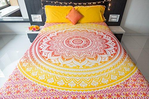 Folkulture - Juego ropa cama colcha fundas almohada