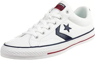 Converse Chucks 144145C Black Star Player Ox Latte Nero