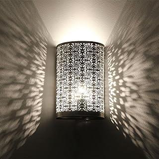 albena shop 71- Oriental Wall lamp H 30cm / W 19cm (Kavita Silver)