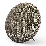 Bluetooth Lautsprecher, Wirezoll WS-4 16W Tragbar Bluetooth 4.1 Stereo Wireless Speaker mit Leinen Oberfläche und Bassverstärker mit HiFi-Klang, mit Mikrofon für iPhone, iPad, Samsung, Nexus, HTC und andere Android Geräte, TF Funktion Unterstützt, Braun