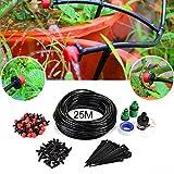 Yosmy Automatik Bewässerung sbausätze, Tröpfchenbewässerung Gartenbewässerung Kit Bewaesserungssystem Drip Bewässerung Kit automatischem Sprinkler