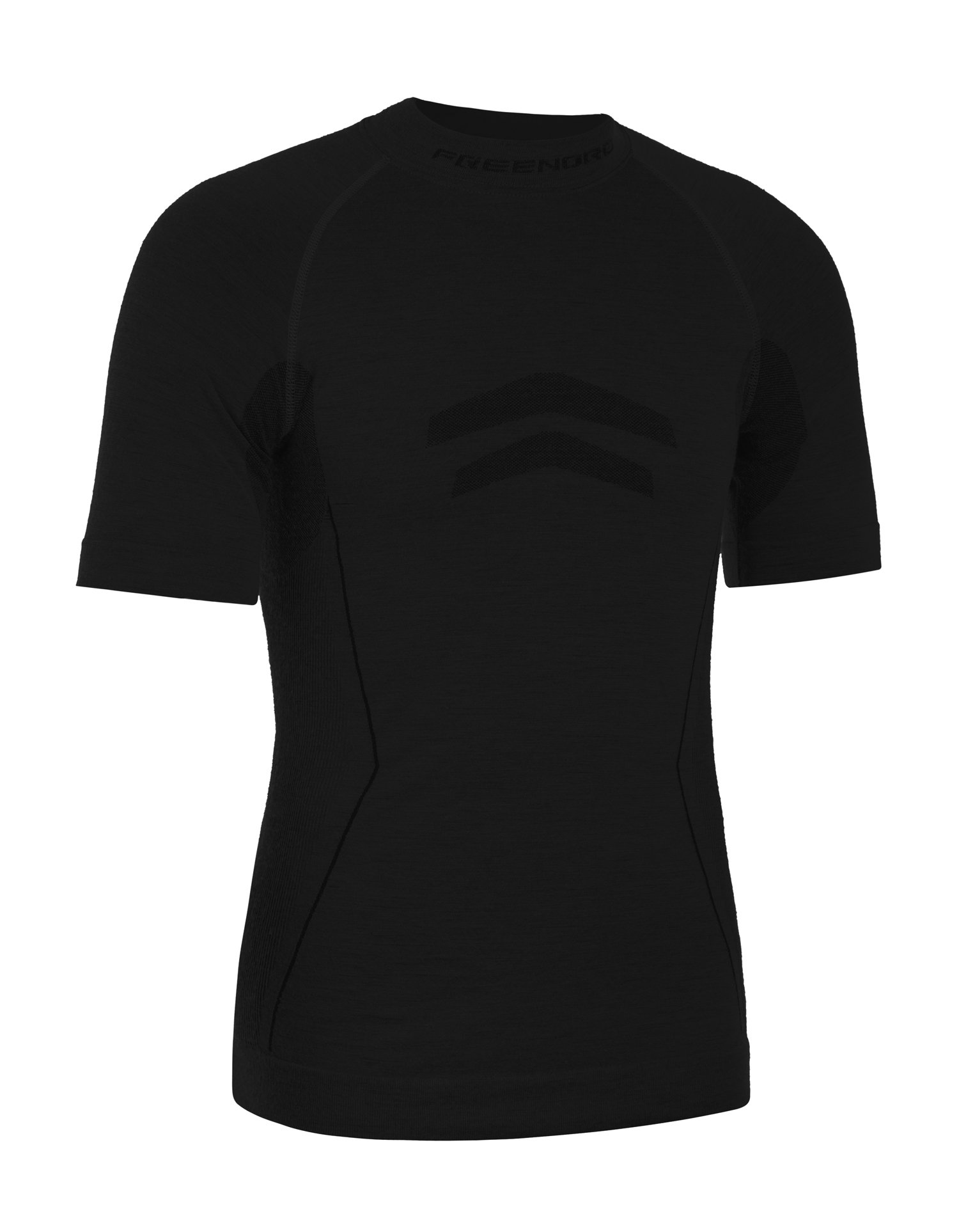 Freenord MERINOTECH Active Merino Wolle Thermoactive Fonctionnel Unterwäsche Kurzarm-T-Shirt