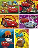 Unbekannt Clementoni 12er Baby Würfelpuzzle Disney Cars, 6 Motive, 19x19 cm, ab 3 Jahre: Würfel Puzzle Spaß 12 Teile Baby Puzzle im Koffer Cars Mc Queen Puzzel