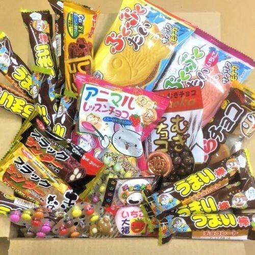 Schokolade spezielles Dagashi Kasten-japanische Imbisse 27pcs Umaibo begrenztes u. Zeitangebot mit AkibaKing Aufkleber -
