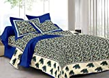 #8: Re Double Bed Sheet Blue Colour with STANDRED Size for Best USE
