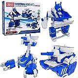 Take Apart DIY Boy Robot Kit Engineering Building Stem Electric Assembly Mechanics Robot, Tank, Scorpion Toy Play Set - 57 pcs