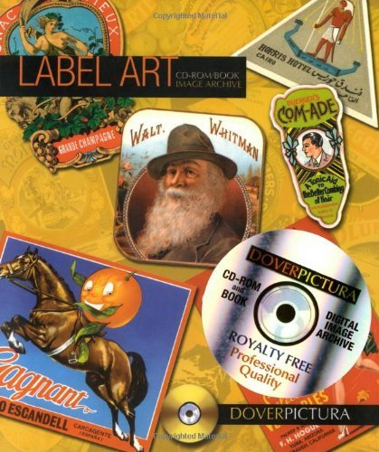 Label Art (Dover Pictura Electronic Clip Art) by Alan Weller (2008-09-03)
