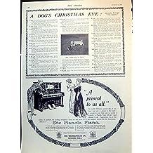 Stampi i Regali di Vickery degli Annunci del Piano del Pianola dell'Erba del Gattino del Cane 1912 131T147