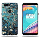 DIKAS OnePlus 5T Hülle, One Plus 5T Handyhülle, TPU Softcase Silikon Back Cover Tasche Anti-Scratch Telefon-Kasten Handyhülle Handycover Bumper Fall für OnePlus 5T one Plus 5T 1+5T (6.01