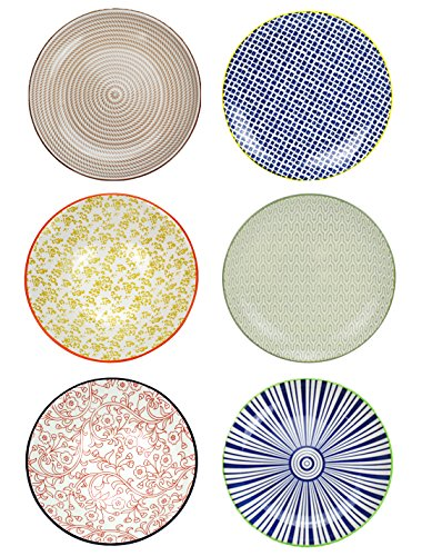 farbige teller ARD 'Time ec-6sabasgm2Teller sabaé, Keramik, Bunt, 26cm