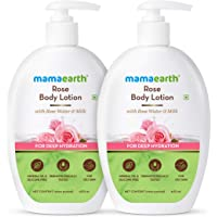 Mamaearth Rose Body Lotion - Pack of 2 (400 ml * 2)