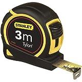 Stanley Tylon tape 3 m, Tylon-polymeer beschermlaag, verschuifbare eindhaak, kunststof behuizing, 1-30, 3 m, 1
