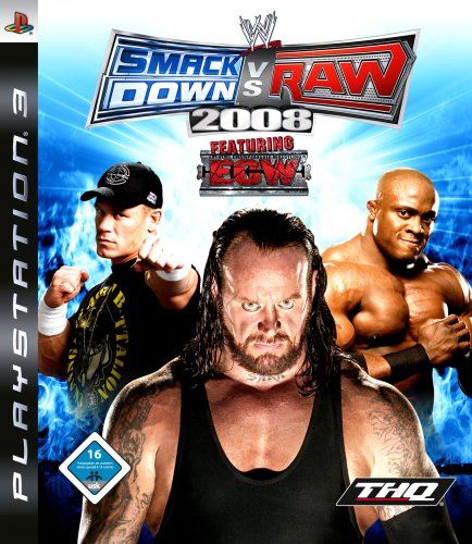 WWE Smackdown vs. Raw 2008 (Games Wrestling Ps2)