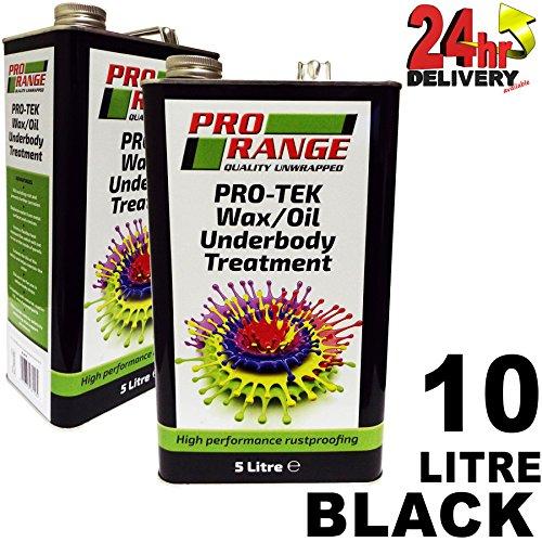 pro-range-black-waxoil-excellent-rustproof-protection-coating-10-litre-2-x-5l-cans-pro-tek-wax-oill-