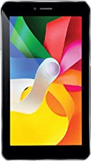 (CERTIFIED REFURBISHED) iBall Q45 Tablet (7 inch, 8GB, Wi-Fi+3G+Voice Calling), Black
