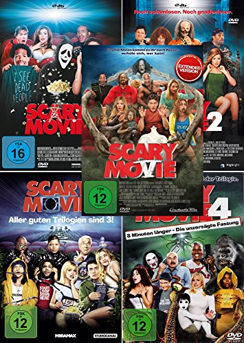 Bild von Scary Movie 1-5 [DVD]