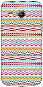 Snoogg Aztec Pink Lines Solid Snap On - Back Cover All Around Protection For ...