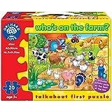 Orchard Toys - Puzle de granja [importado del Reino Unido]