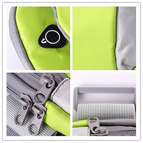 Tragbar Leicht Sportarmband Handytasche Tasche Wristlet für Gym Outdoor Sport rose