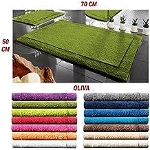 ADP Home - Alfombra premium new york (de 50x70cm), verde oliva