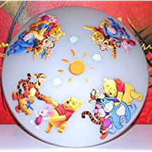 Philips Disney LED Deckenleuchte Winnie Puuh Gelb Lampe Kinderzimmer ...