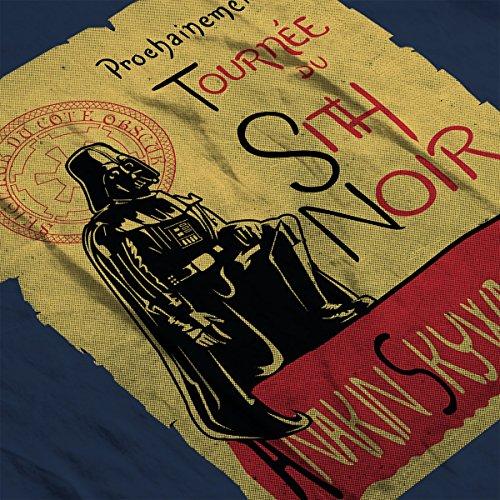 Tournee Du Sith Noir D Anakin Skywalker Star Wars Women's Vest Navy Blue