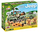 COBI - 24192 - Small Army - Jeep Willys MB With 1/4 Ton Cargo Trailer