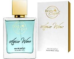 Body Cupid Aqua Wave Perfume for Men & Women - Eau De Parfum - Fresh Unisex Fragrance - 100 mL