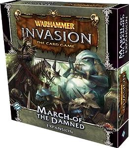 Fantasy Flight WHC15 - Juego de miniatura Warhammer, para 2 jugadores (FFGWHC15) (versión en inglés) - Warhammer invasion. La marcha de los condenados