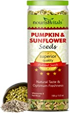 Nourishvitals Roasted Pumpkin & Sunflower Seeds - 150 Gm
