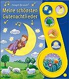 Meine schönsten Gutenachtlieder - Liederbuch mit Sound: Pappbilderbuch mit 6 Melodien