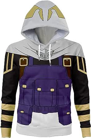 My Hero Academia Tamaki Amajiki Cosplay Long Sleeve Printing Hoodie Carnival Halloween Daily Wear Sweatshirt Pullover