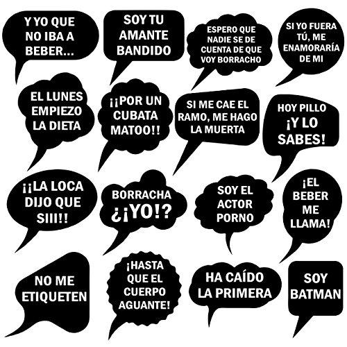Oedim Atrezzo Photocall Frases Graciosas | Atrezzos