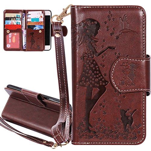 Custodia Iphone 7 Isaken Iphone 7 Flip Cover Con Strap Elegante