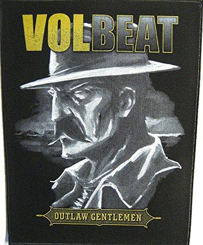 Volbeat schiena toppa/Back Patch # 1Outlaw Gentlemen