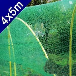 Vogelnetz 4x5 m kunststoff vogel pflanzen for Teich schutz