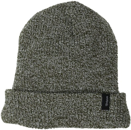 Brixton Beanie Heist Olive Heather