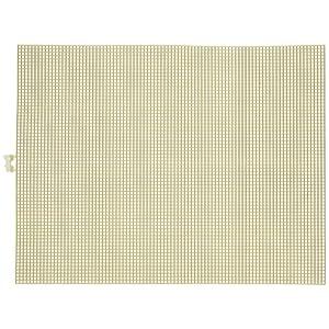 Darice 7 Mesh Plastic Canvas Gold Metallic- 10.5 x 13.5 (12 Pieces) x 1PK, Clear, 13.58 x 22.58-Inch