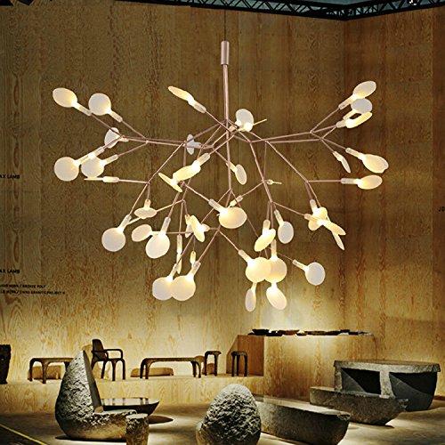 YFF&ILU Villaggio creative glow worm sala da pranzo soggiorno sala studio bar bedroomcafe lampadario di ferro