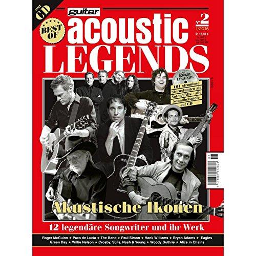 Best of guitar acoustic Legends II mit CD - 12 legendäre Akustikgitarre...
