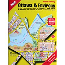 Carte routière : Ottawa et ses environs